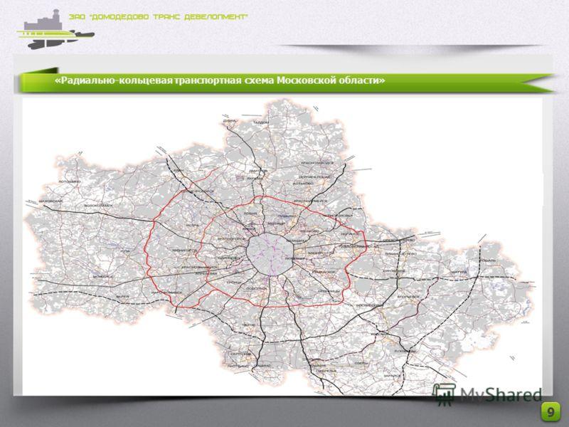 «Радиально-кольцевая транспортная схема Московской области» 9