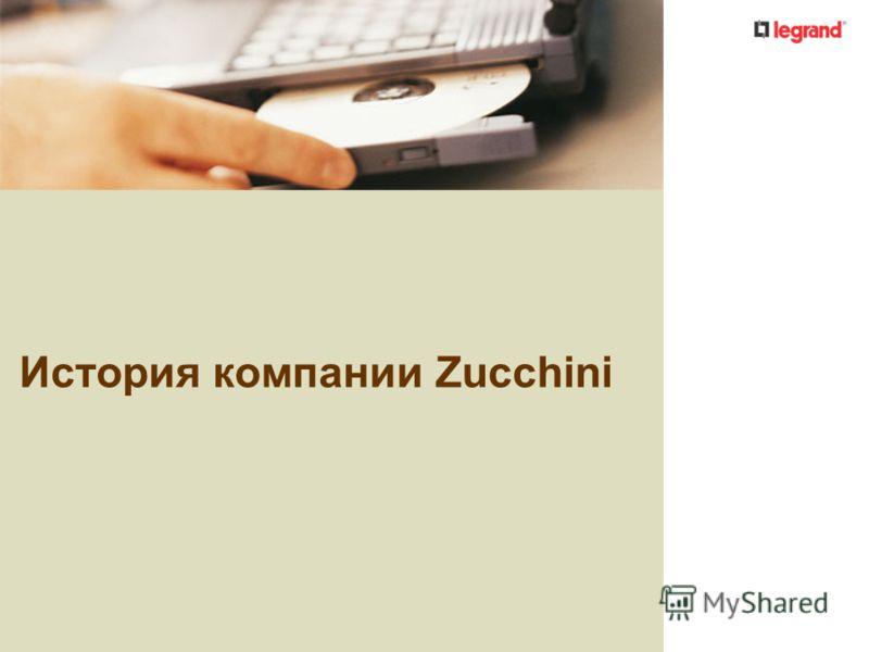 История компании Zucchini
