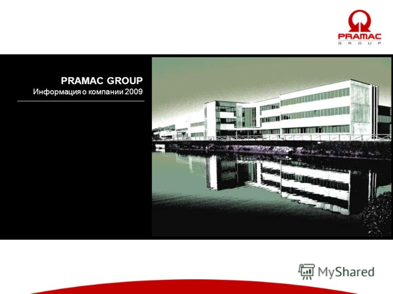PRAMAC GROUP Информация о компании 2009