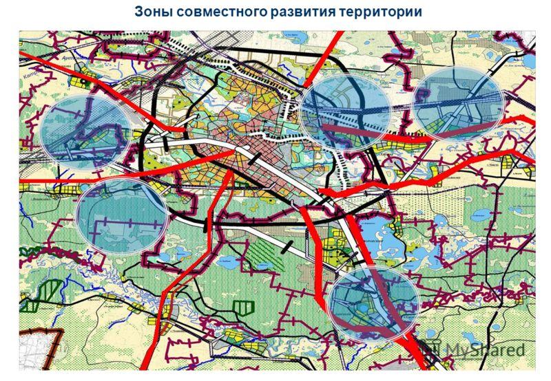 Зоны совместного развития территории