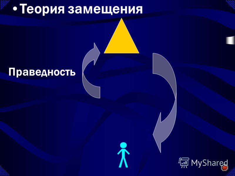 Праведность Теория замещения