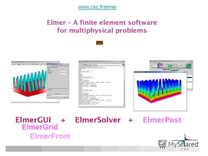 www.csc.fi/elmer