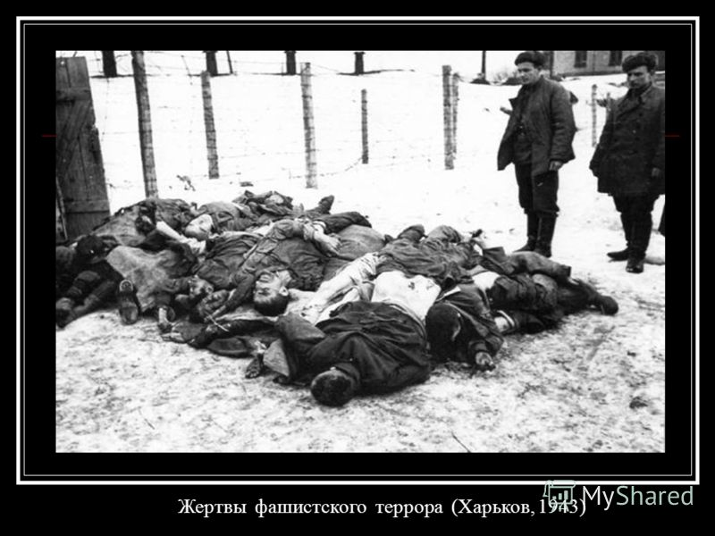 Жертвы фашистского террора (Харьков, 1943)