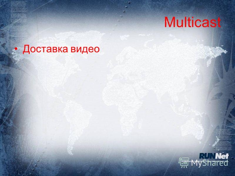 Multicast Доставка видео