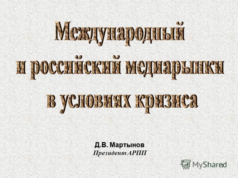 1 Д.В. Мартынов Президент АРПП