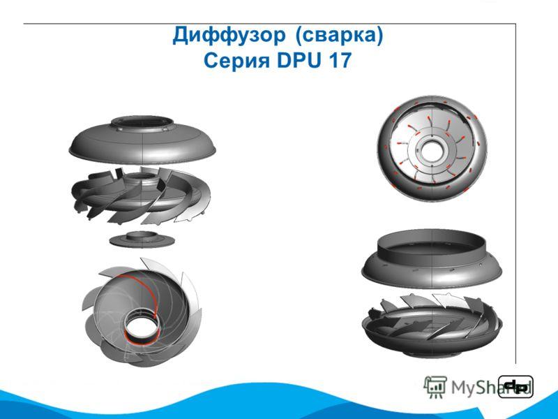 Диффузор (сварка) Серия DPU 17