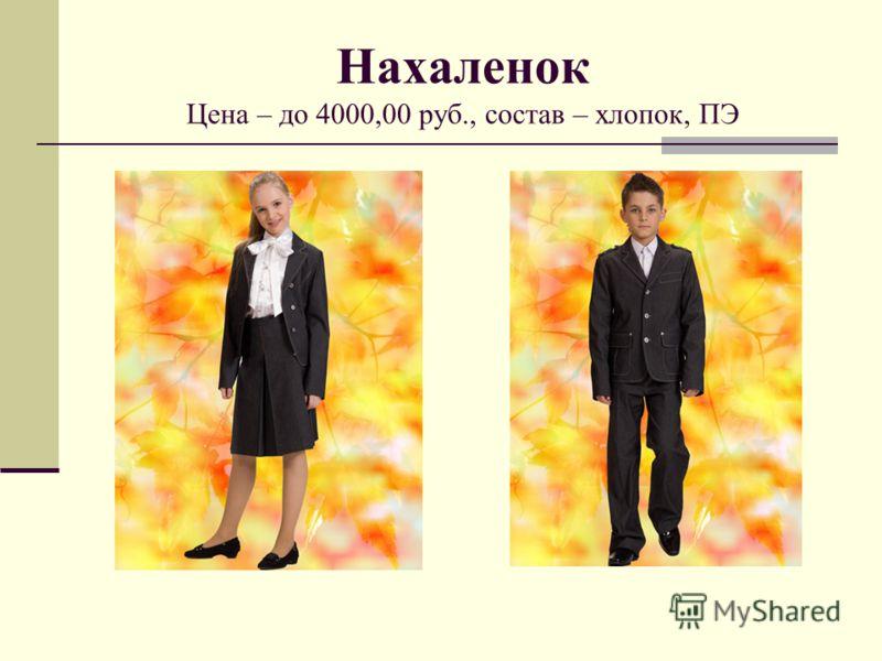 Нахаленок Цена – до 4000,00 руб., состав – хлопок, ПЭ