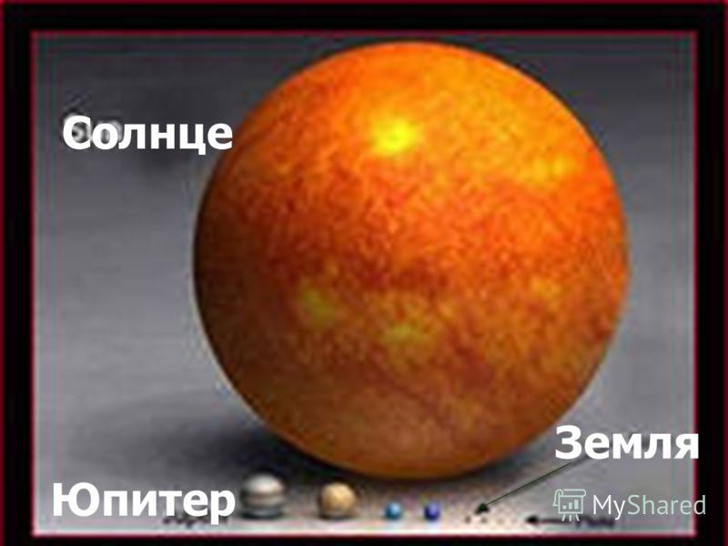 Юпитер Земля