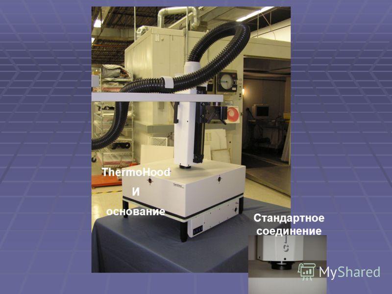 Design Features ThermoHood И основание Стандартное соединение