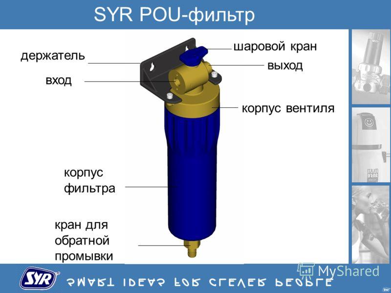SYR POU-фильтр корпус фильтра корпус вентиля шаровой кран держатель вход выход кран для обратной промывки
