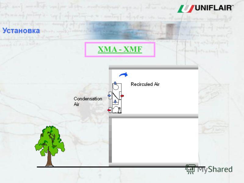 XMA - XMF Установка