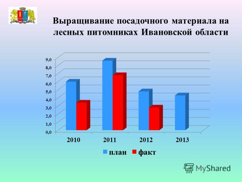 Выращивание посадочного материала на лесных питомниках Ивановской области