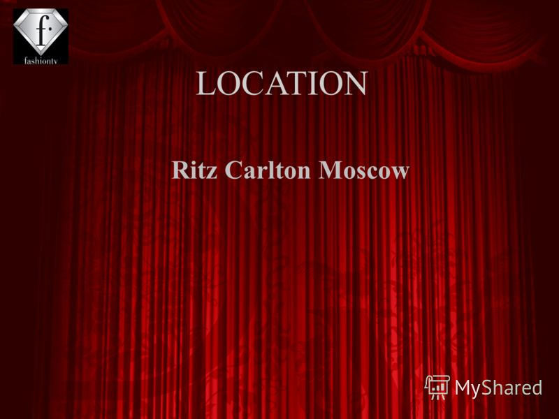 Ritz Carlton Moscow LOCATION
