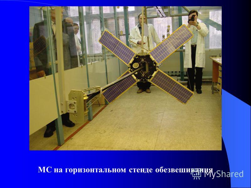 МС на горизонтальном стенде обезвешивания
