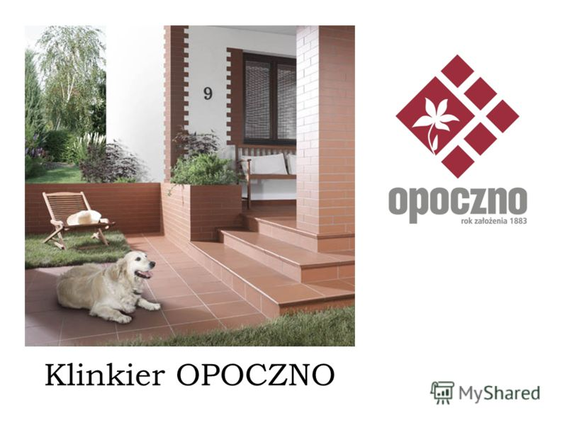 Klinkier OPOCZNO SIMPLE red