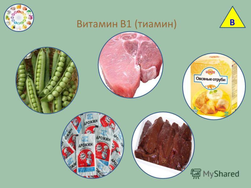 Витамин В1 (тиамин) В