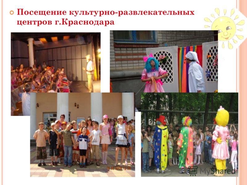 Посещение культурно-развлекательных центров г.Краснодара Ипподром