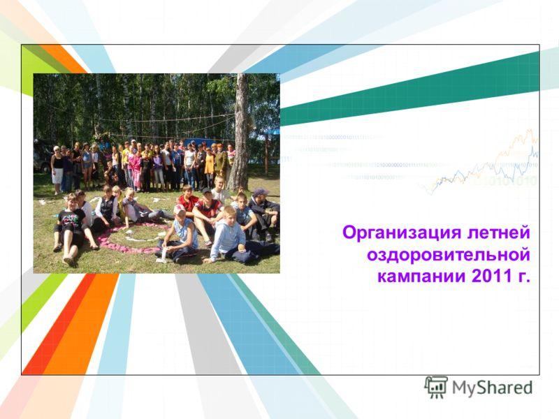 L/O/G/O www.themegallery.com Организация летней оздоровительной кампании 2011 г.