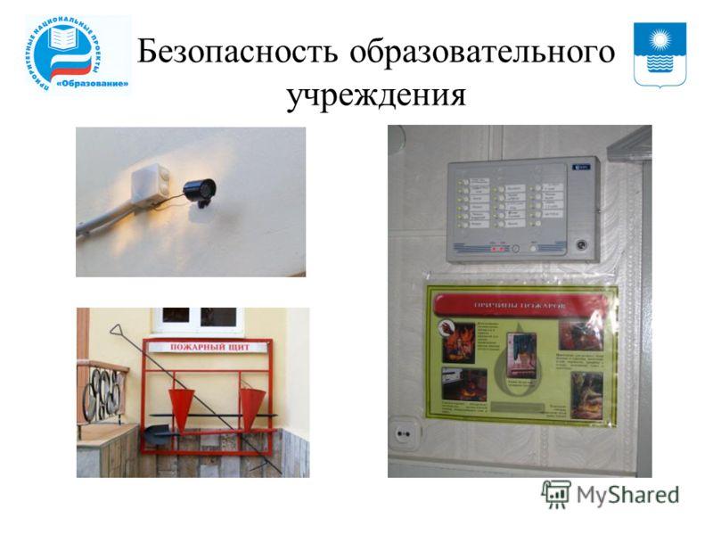 Безопасность образовательного учреждения