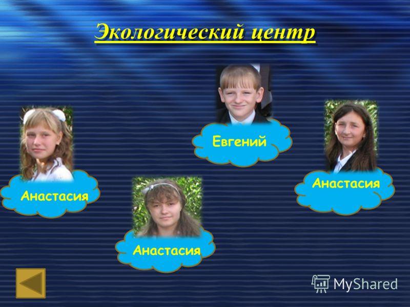 Экологический центр Анастасия Евгений