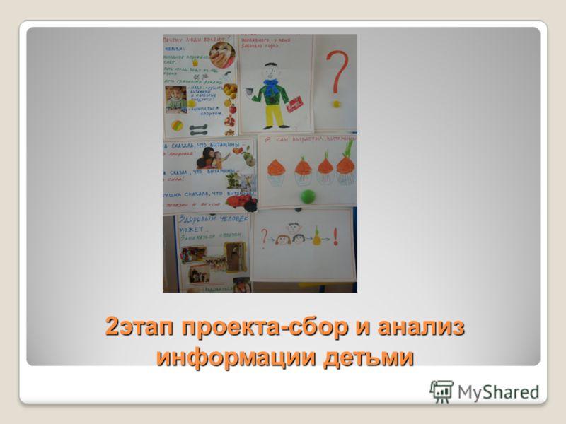 2этап проекта-сбор и анализ информации детьми