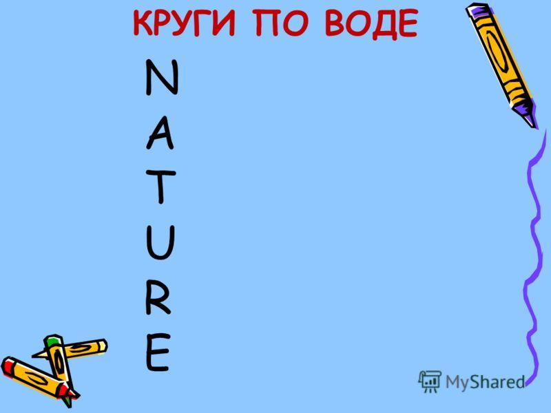 КРУГИ ПО ВОДЕ NATURENATURE