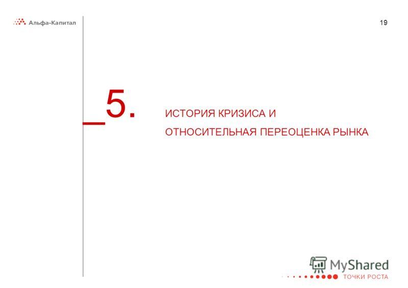 19 _5. ИСТОРИЯ КРИЗИСА И ОТНОСИТЕЛЬНАЯ ПЕРЕОЦЕНКА РЫНКА