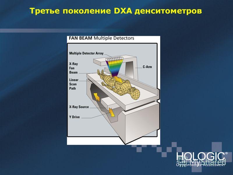 Третье поколение DXA денситометров