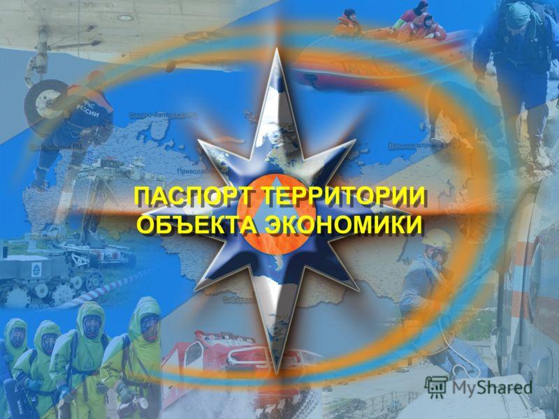 Титульный лист ПАСПОРТ ТЕРРИТОРИИ ОБЪЕКТА ЭКОНОМИКИ