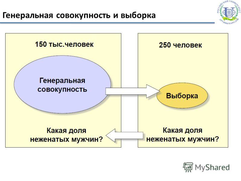Генеральная совокупность и выборка