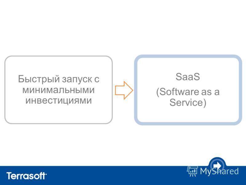 SaaS (Software as a Service) Быстрый запуск с минимальными инвестициями