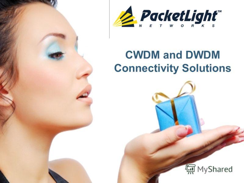 CWDM and DWDM Connectivity Solutions