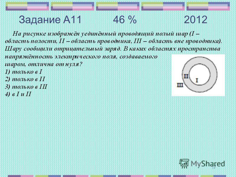 Задание А11 46 %2012 17