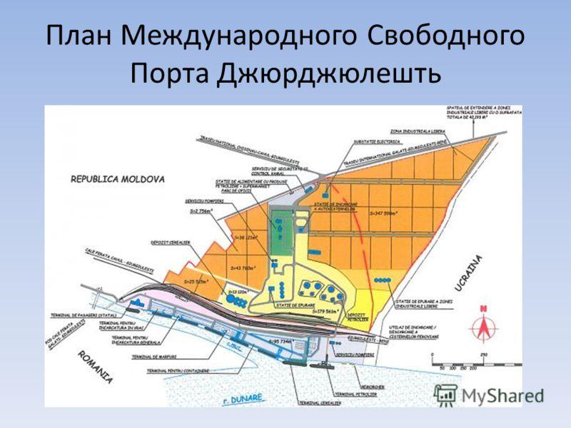 План Международного Свободного Порта Джюрджюлешть