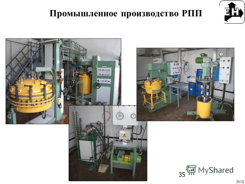 35/32 35 Промышленное производство РПП