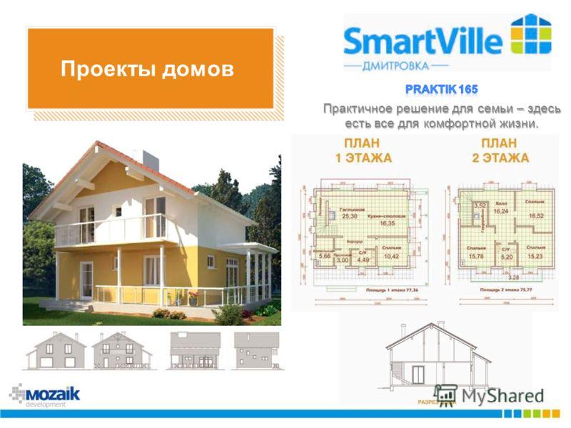 Проекты домов Практичное решение для семьи – здесь есть все для комфортной жизни.