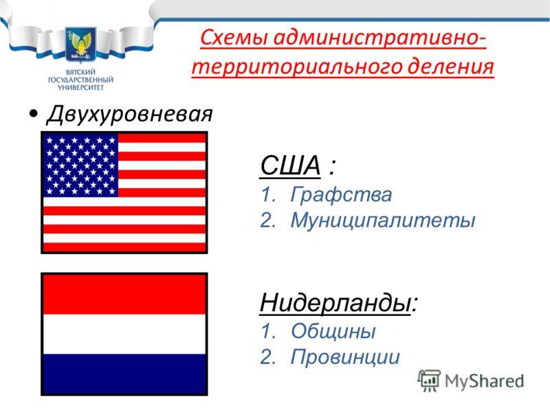 Схемы административно-