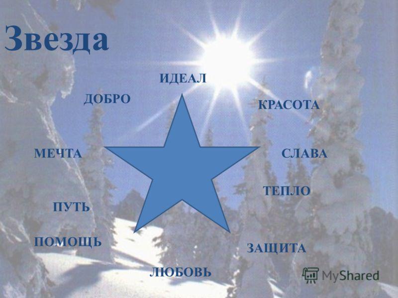 Звезда ИДЕАЛ КРАСОТА МЕЧТАСЛАВА ЛЮБОВЬ ТЕПЛО ДОБРО ПОМОЩЬ ЗАЩИТА ПУТЬ