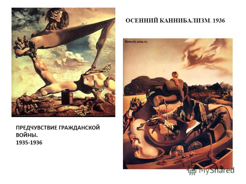 ОСЕННИЙ КАННИБАЛИЗМ. 1936 ПРЕДЧУВСТВИЕ ГРАЖДАНСКОЙ ВОЙНЫ. 1935-1936