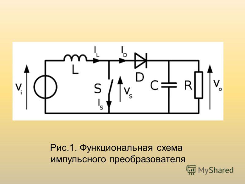 Рис.1. Функциональная схема импульсного преобразователя