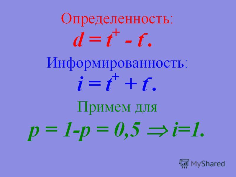 За (t 1 + )Против (t 1 - ) За (t 2 + )Против (t 2 - )
