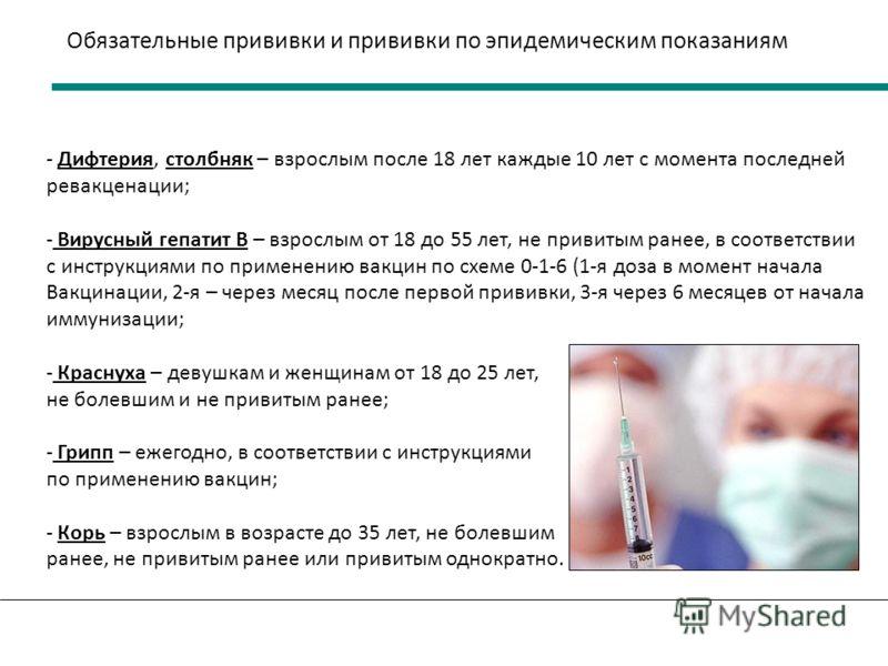 Какие прививки ставить не обязательно
