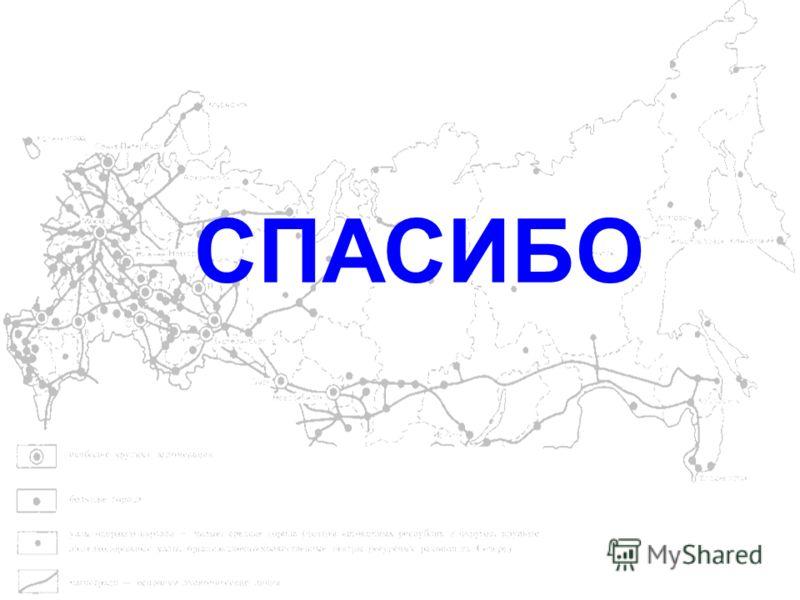 МИНРЕГИОН Министерство регионального развития Российской Федерации 15 СПАСИБО