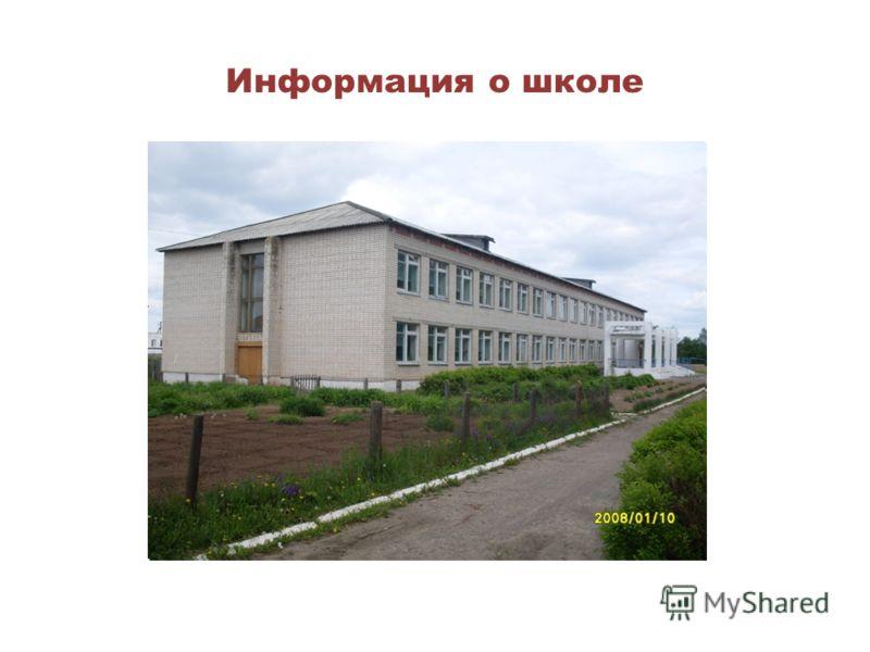 Информация о школе