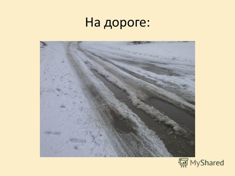 На дороге: