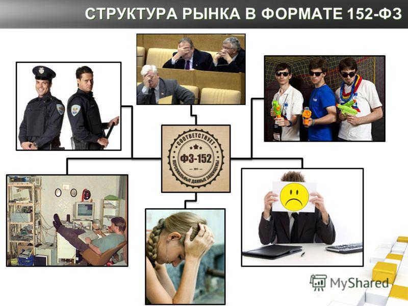 СТРУКТУРА РЫНКА В ФОРМАТЕ 152-ФЗ