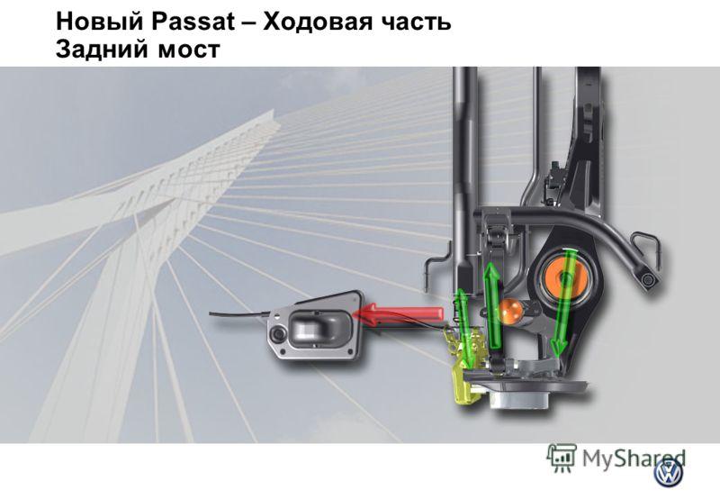Новый Passat – Ходовая часть Задний мост