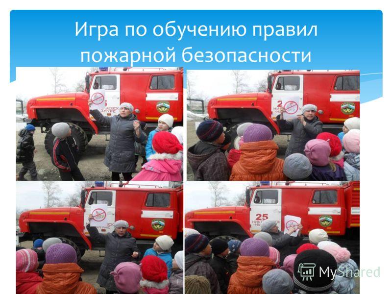 Игра по обучению правил пожарной безопасности
