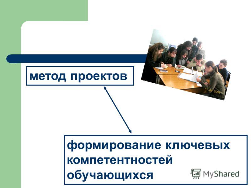метод проектов формирование ключевых компетентностей обучающихся
