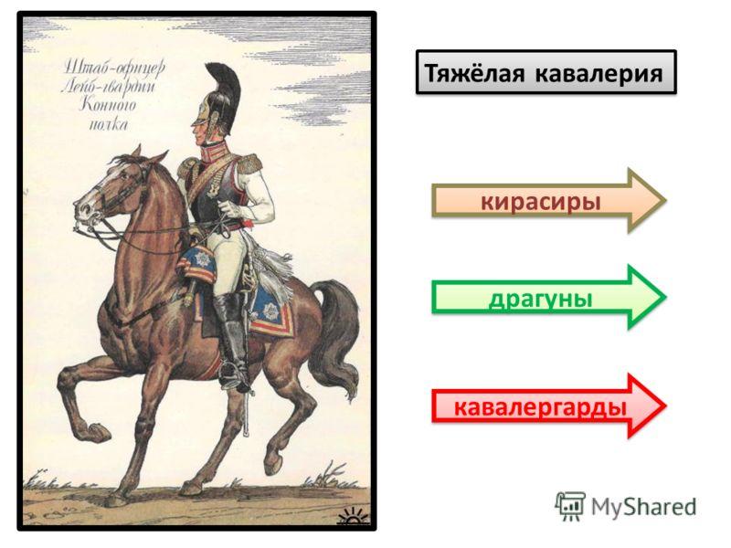 Тяжёлая кавалерия кирасиры драгуны кавалергарды